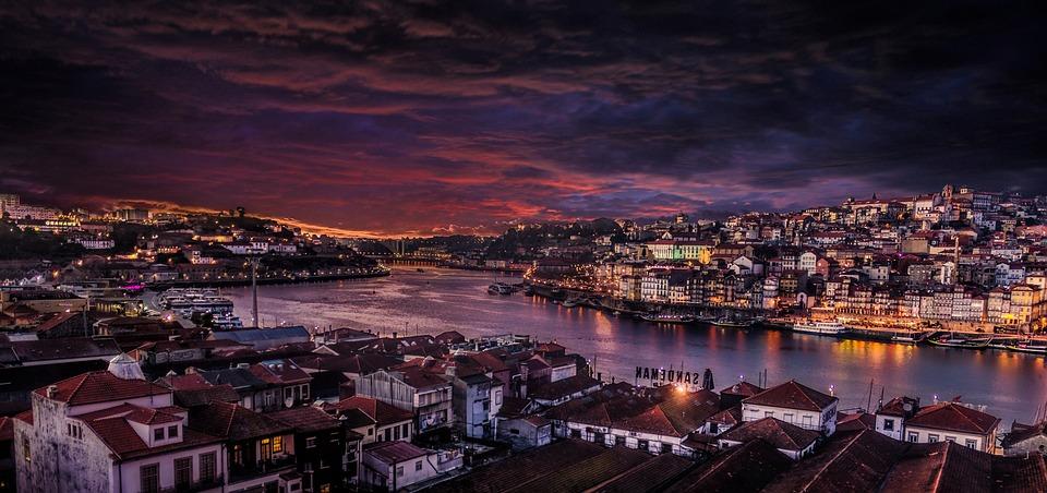 Porto, Ciudad, Portugal, Histórico De La Ciudad, Rio