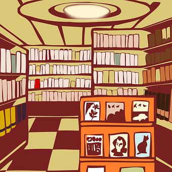 書店, 図書館, 読書, 本, 本屋, 知識