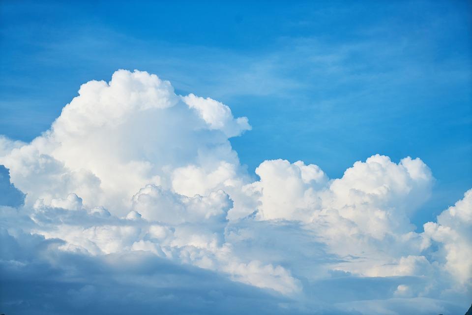 Azul Cielo Fondo · Foto Gratis En Pixabay