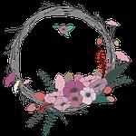 flowers, twig, corolla