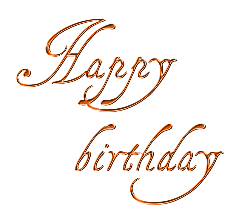 Free illustration Happy Birthday Lettering Font Free Image on