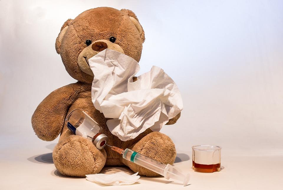 Erkältung, Grippe, Krank, Spritze, Grippeimpfung