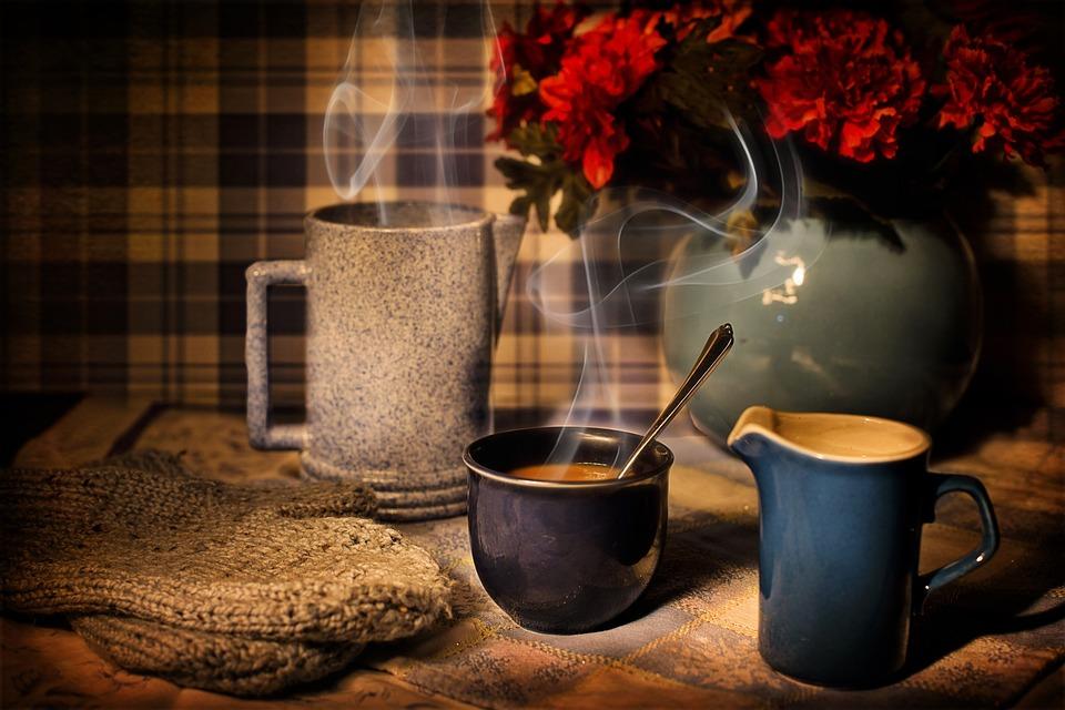 Café, Hiver, Chaleur, Cozy, Coupe, Boire, Chaud, Chaude