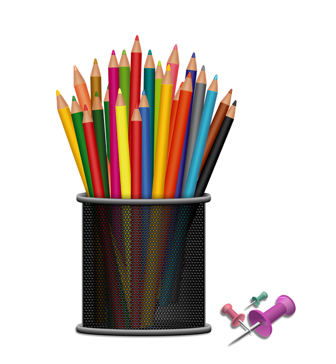Free illustration kit school supplies crayons free for What kind of paint to use on kitchen cabinets for transparent sticker