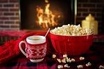 winter, popcorn