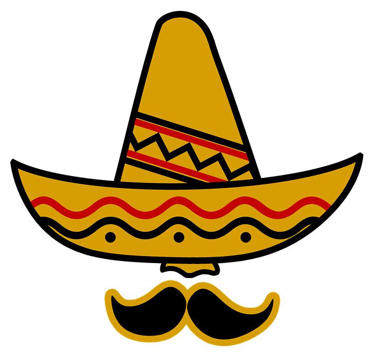 bredskygget mexicansk hat
