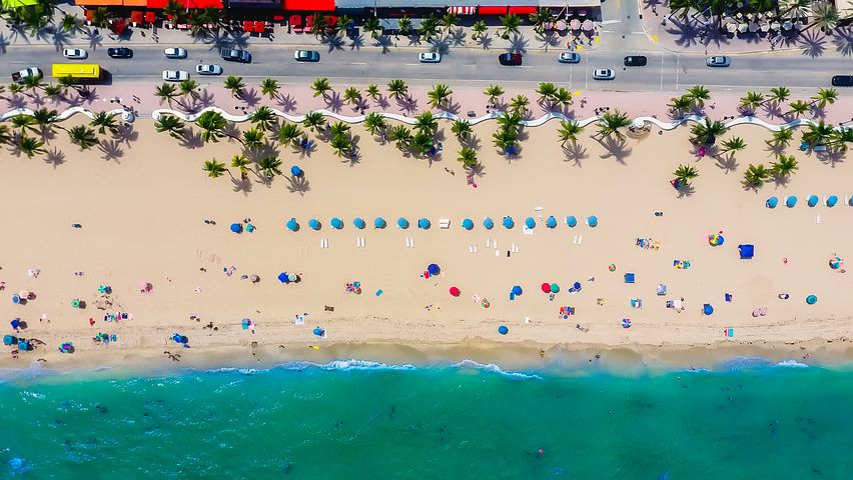 Fort Lauderdale, Florida, Sea, Ocean