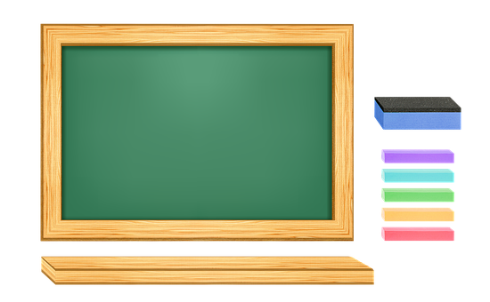 An Array Of, Green Blackboard