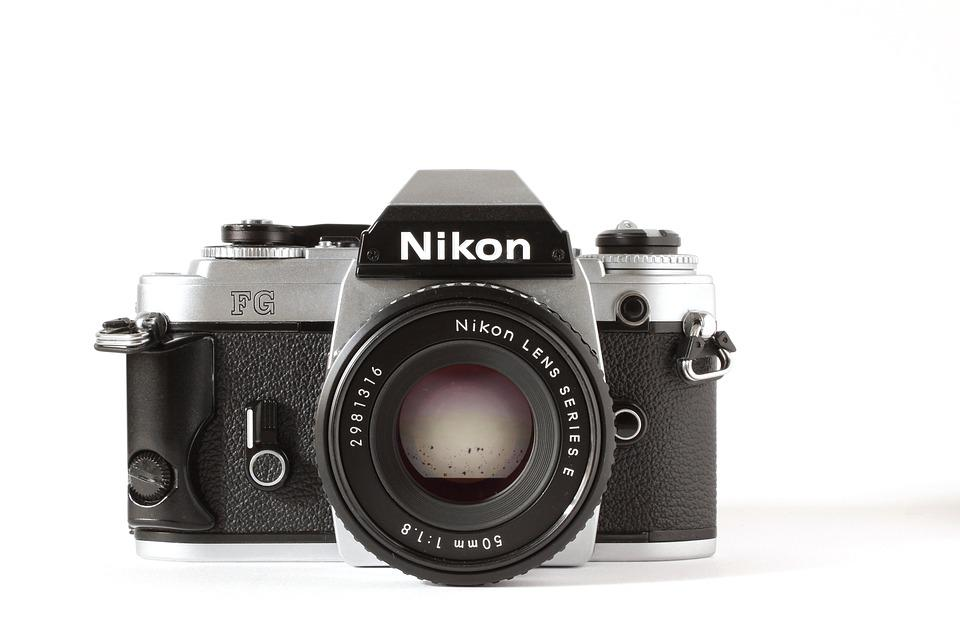 Free photo: Nikon, Analog, Camera, Old Camera - Free Image on ...