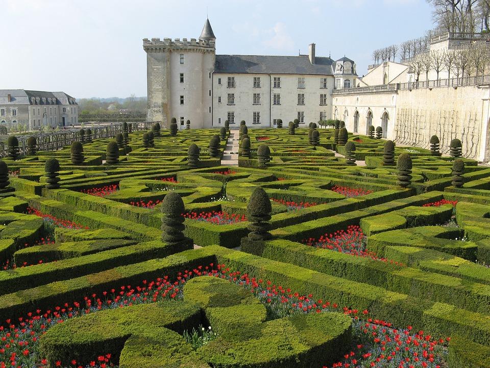 Chateau, Villandry, France