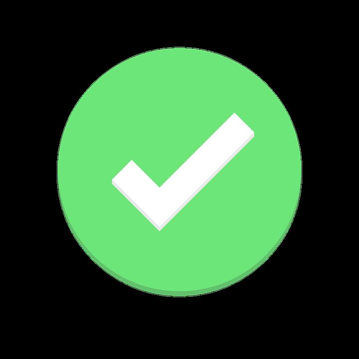 Ok Check Todo Free Vector Graphic On Pixabay