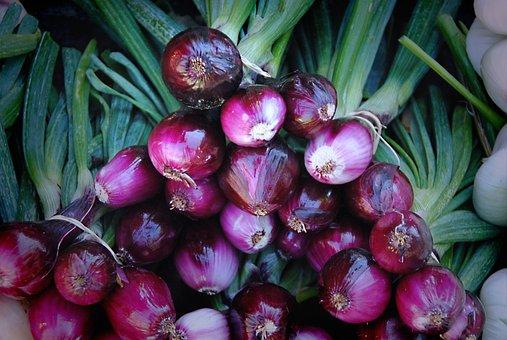 Onions, Leek, Vegetables, Root, Healthy