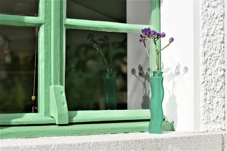 Window Flower Vase Free Photo On Pixabay