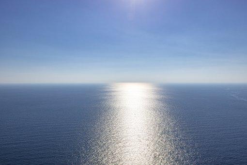 Blue, Sea, Empty, Blue Sea, Sky