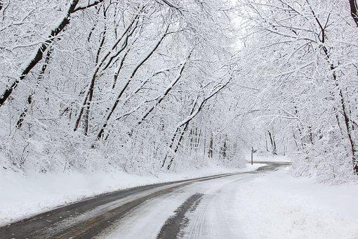 Image result for images snowy roads