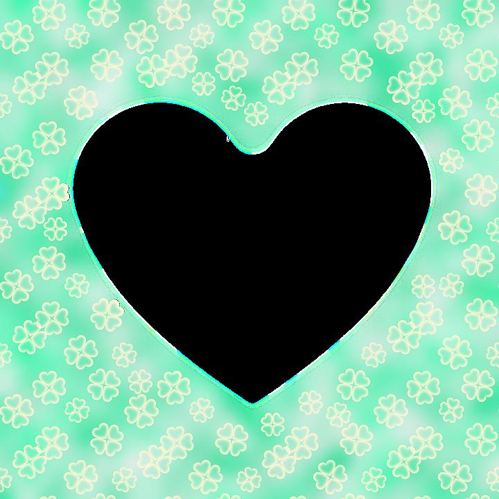 Corazón Trébol De 4 Hojas Verde · Imagen gratis en Pixabay