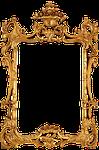 frame, gold, decorative