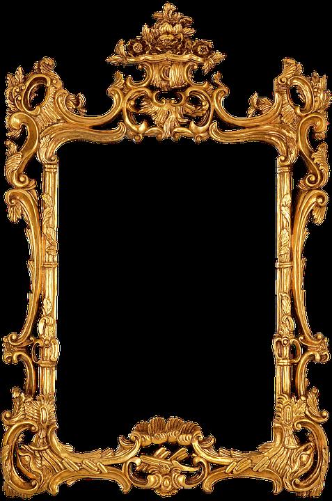 Frame Gold Decorative Antique Photos Regal
