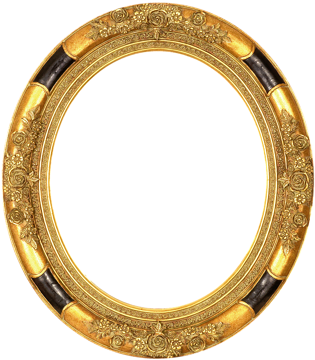 Frame Gold Embossed · Free image on Pixabay