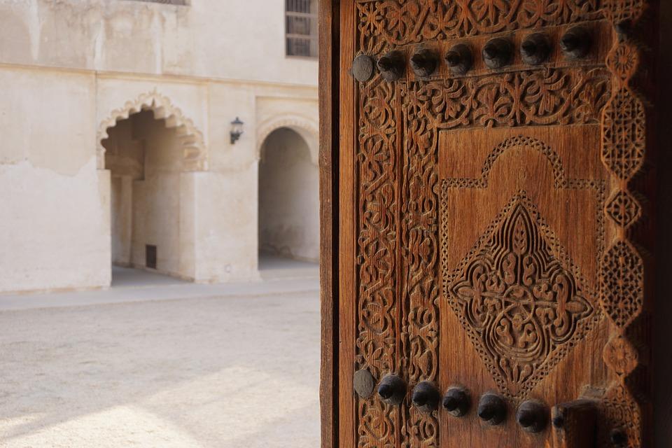 Дверь, Дом, Арабская, Бахрейн