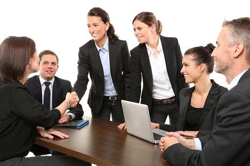 Lidé, Podnikání, Setkání