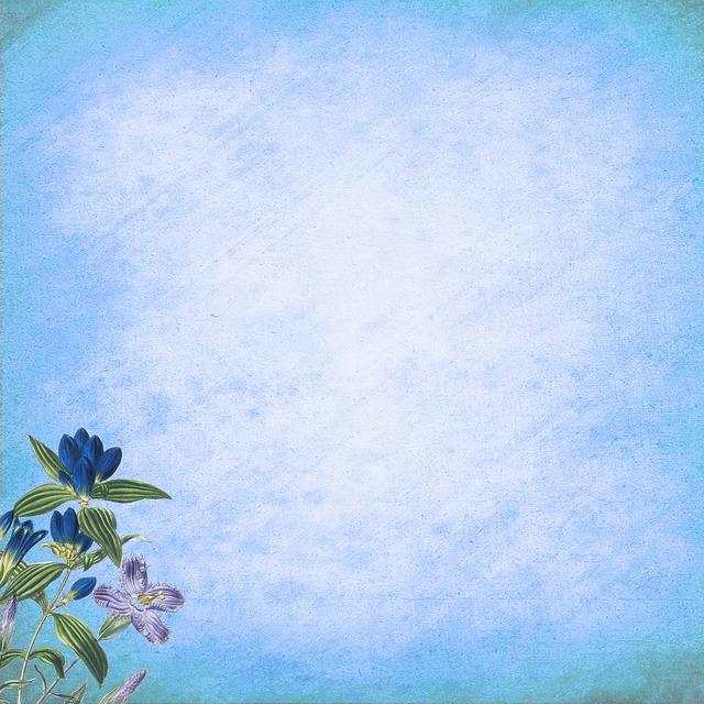 Голубой фон на открытку, днем рождения начальника