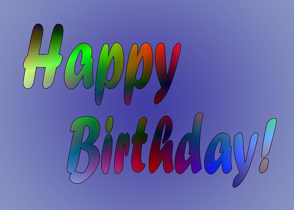 Birthday Congratulations Party Celebrate