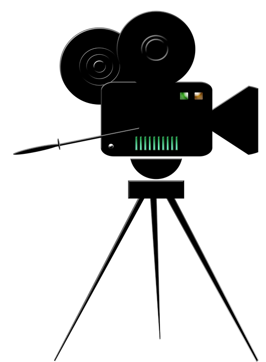 Camera movie logo free image on pixabay - Clipart cinema gratuit ...