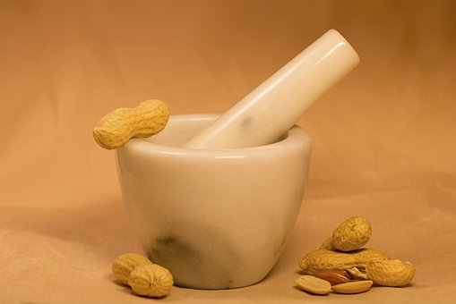 Peanuts Pestle Peanut Butter Dried Fruit F