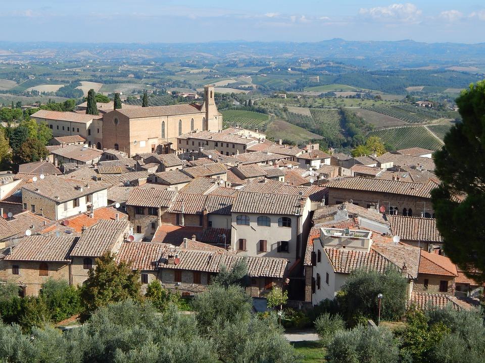 San, Giminiano, Toscana, Italia