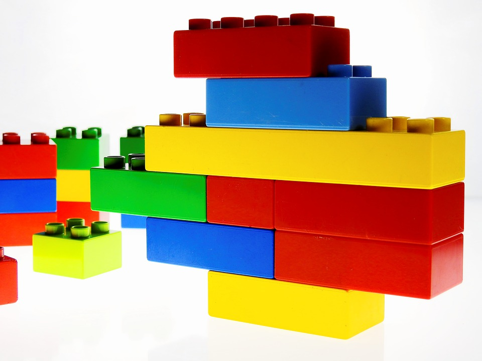 House Building Blocks Like Legos