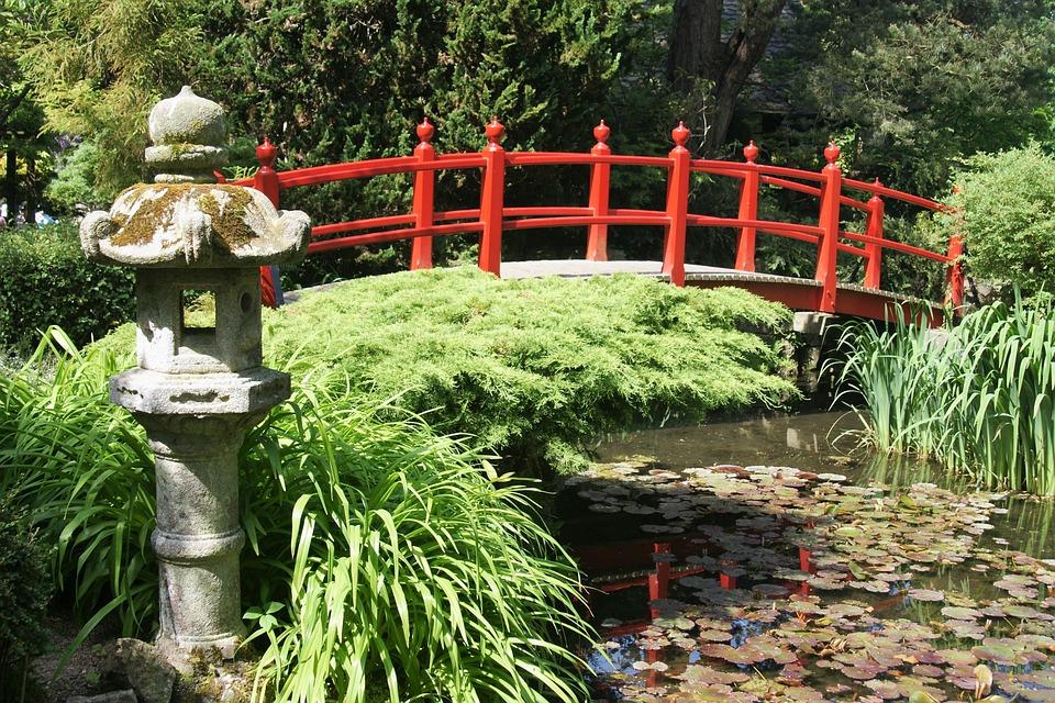 Brücke Japan Japanischer Garten Kostenloses Foto Auf Pixabay
