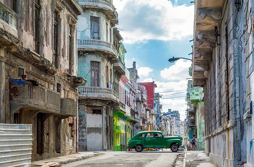 Havana, Cuba, City, Urban, Buildings