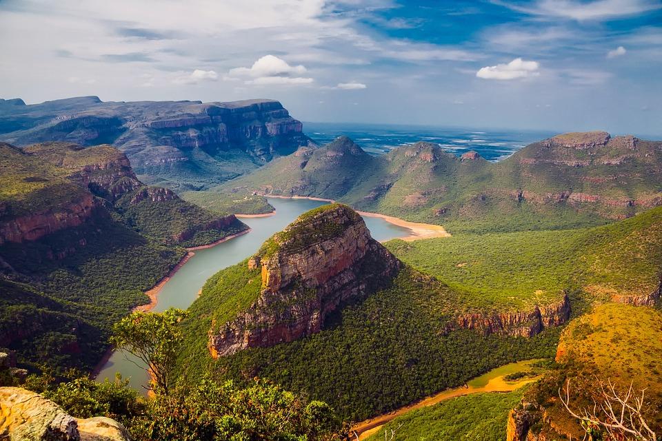 Paisaje en Sudáfrica