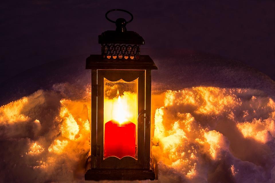 Laterne Kerze Licht Kostenloses Foto Auf Pixabay