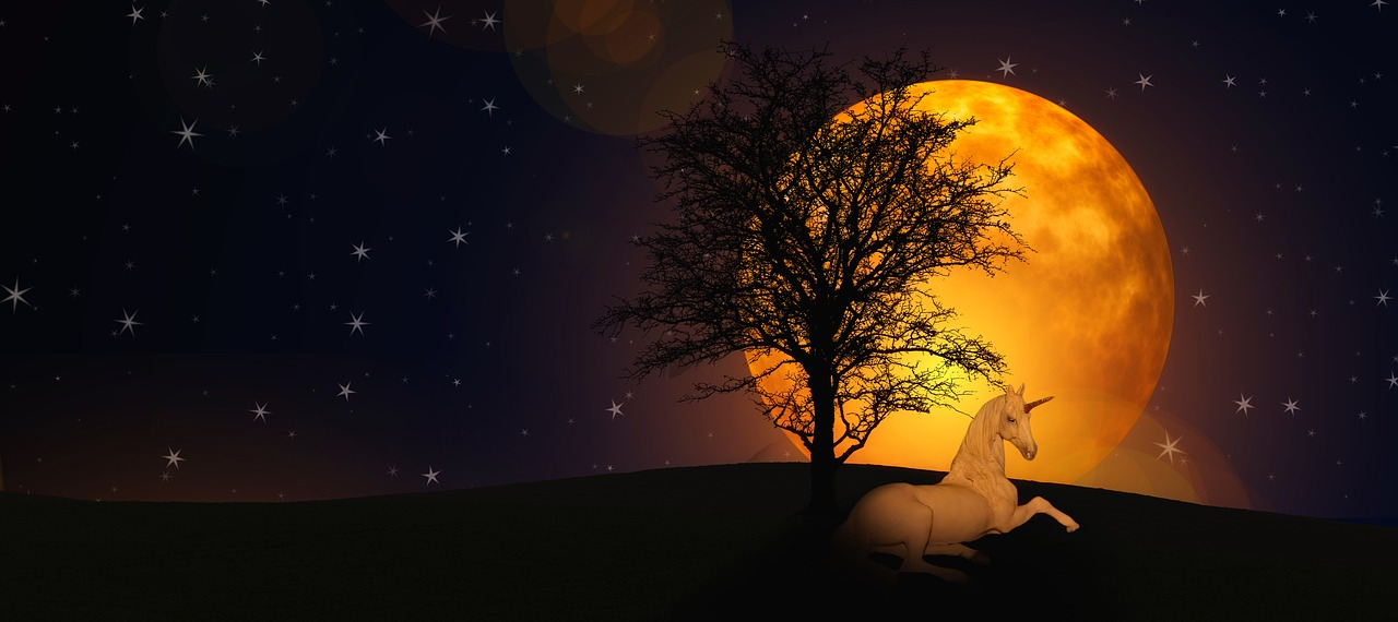 единорог луна картинки нашем