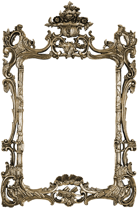 frame photo antique portrait elegant