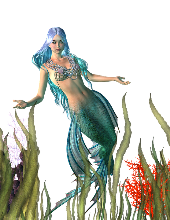 What Color Is The Sun >> Mermaid Myth Girl · Free image on Pixabay
