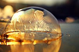 Free Photo Frozen Bubble Soap Bubble Frozen Free