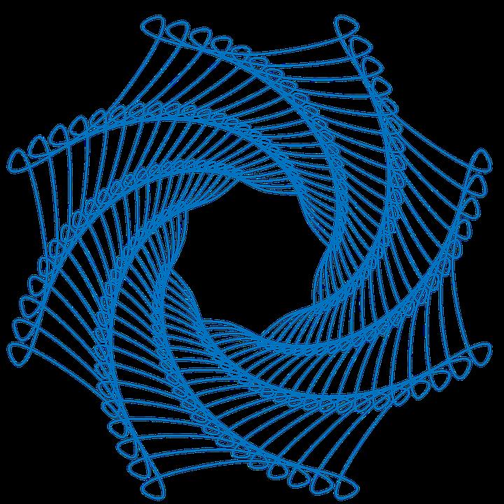 Spirograph Spiral Pattern 183 Free Image On Pixabay