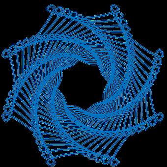 Spirograph, Spiral, Pattern, Geometric