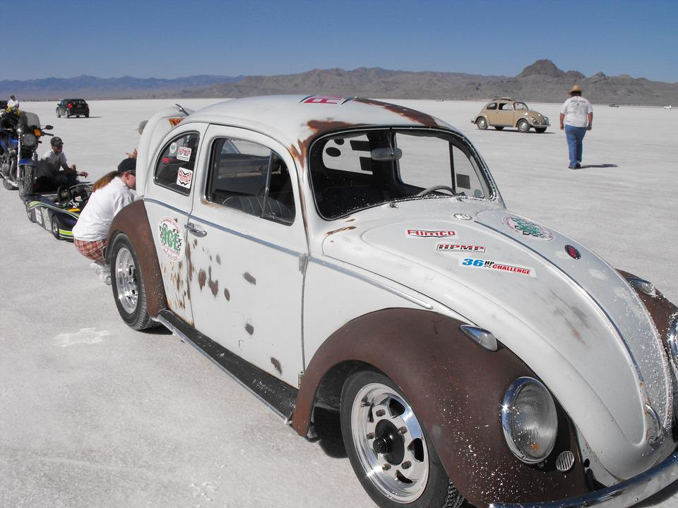 Free photo: Racing, Speed, Salt Flats, Vintage - Free Image on ...