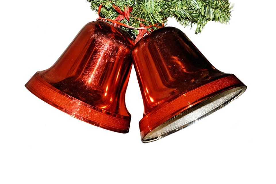 Bells Red Christmas · Free image on Pixabay