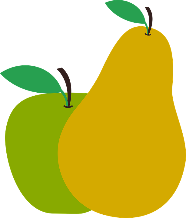 yellow apple clipart. fruit, pear, apple, food, yellow, green, mature yellow apple clipart