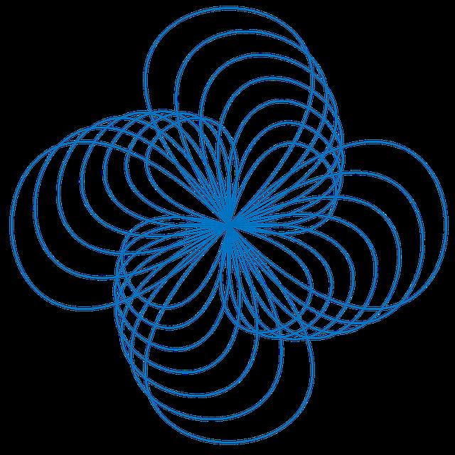 Free illustration: Spirograph, Pattern, Drawing - Free