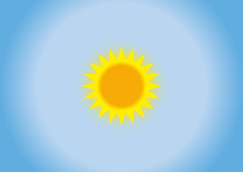 Sun, Sunny, Partly Cloudy, Sky