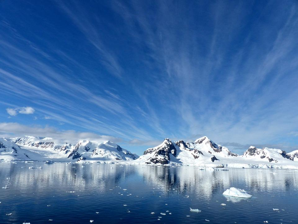 Antarktyda, Paradise Bay, Zimno, Śnieg, Lód, Lodowiec