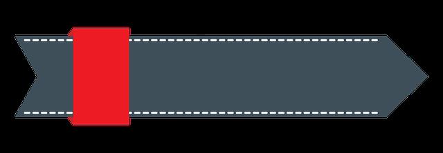 Arrow Tape Banner Dark · Free Image On Pixabay
