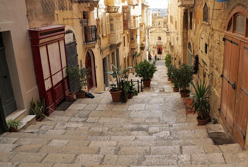 Valetta Malta Road 183 Free Photo On Pixabay