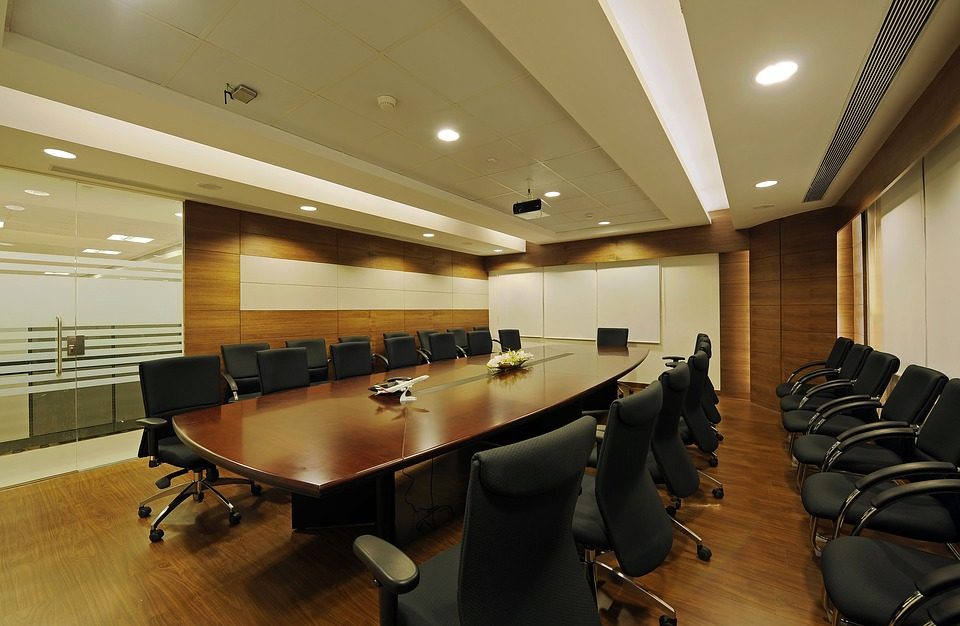 Free Photo Office Space Boardroom Conference